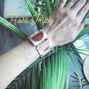 🌿HOST PICK🌿 Jewelmint Gold & Red-Orange Bracelet